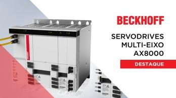 Sistemas de Motion com Servo Drives AX8000 da Beckhoff
