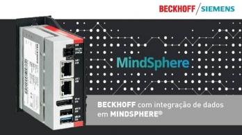 Beckhoff permite a integração de dados em MindSphere® da Siemens