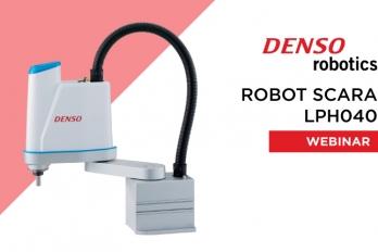 Webinar - Robot SCARA LPH040
