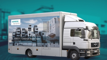 Siemens Exhibition Truck - Industrial Controls Tour