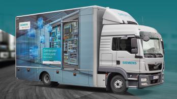 Visita camião Siemens - Industrial Controls Tour