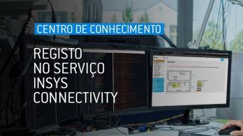 Registo no serviço INSYS Connectivity