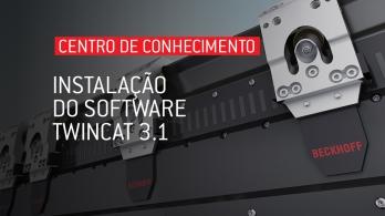 Instalação do software TwinCAT 3.1