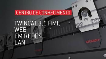 TwinCAT 3.1 HMI - Web em redes LAN