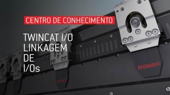 TwinCAT I/O - Linkagem dos I/Os