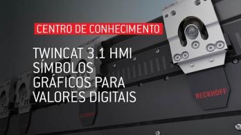 TwinCAT 3.1 HMI - Símbolos gráficos para valores digitais