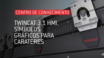 TwinCAT 3.1 HMI - Símbolos gráficos para carateres