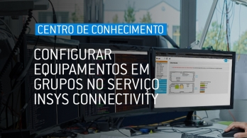 Configurar equipamentos em grupos do serviço INSYS Connectivity