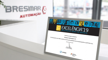 Bresimar Automação recognized as SME Excellence 2019