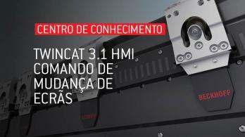 TwinCAT 3.1 HMI - Comando de mudança de ecrãs