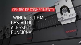 TwinCAT 3.1 HMI - Gestão do acesso funcional