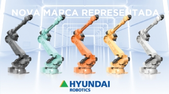 Hyundai Robotics - the new brand of robotic solutions represented by Bresimar Automação