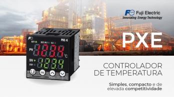 Controlador de temperatura PXE da Fuji Electric